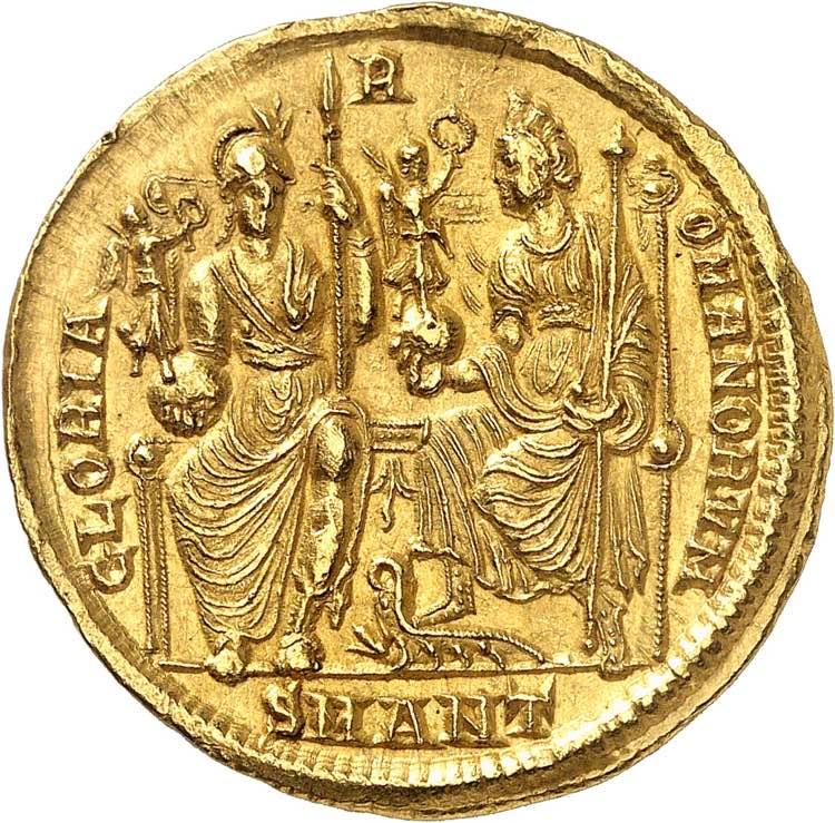 Constance II 337-361. Médaillon ...