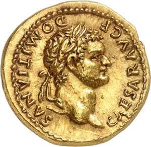 Domitien César 69-81. ...