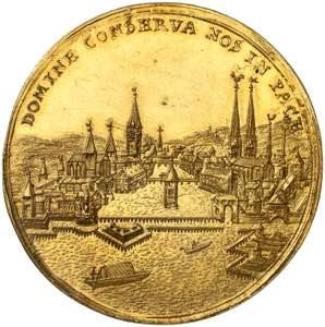 Zurich. Médaille au ...